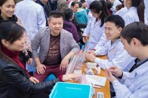 记自贡一医院临床药学室及四川卫康院药学社义诊活动